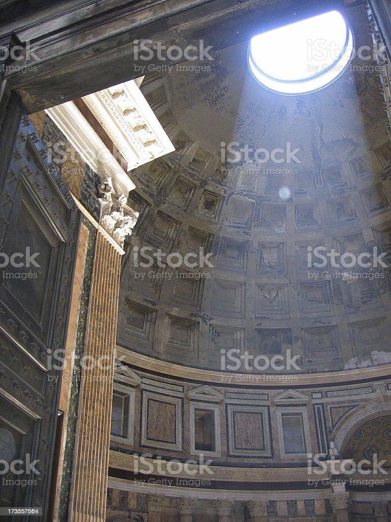 Pantheon I, Roma - Italia stock photo