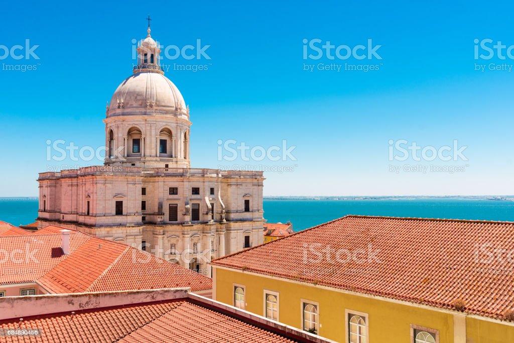 Pantheon in Lisbon, Portugal stock photo
