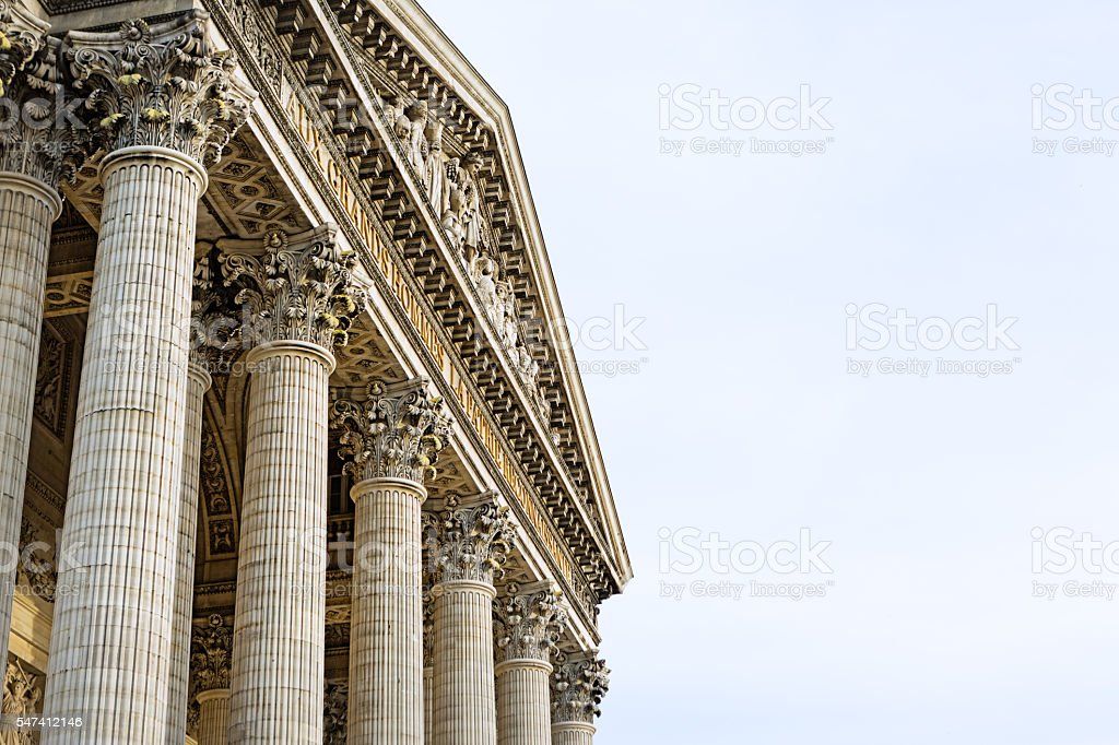 Pantheon, Paris, France stock photo