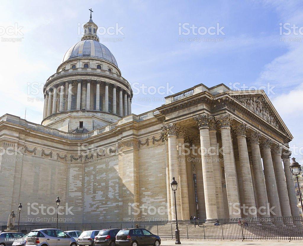 Pantheon, Paris. royalty-free stock photo