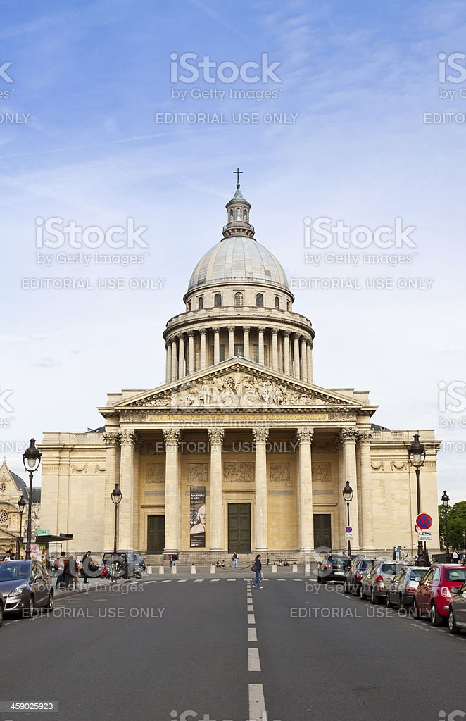 Pantheon, Paris. royalty-free stock photo