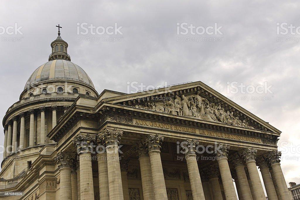 Pantheon Paris royalty-free stock photo