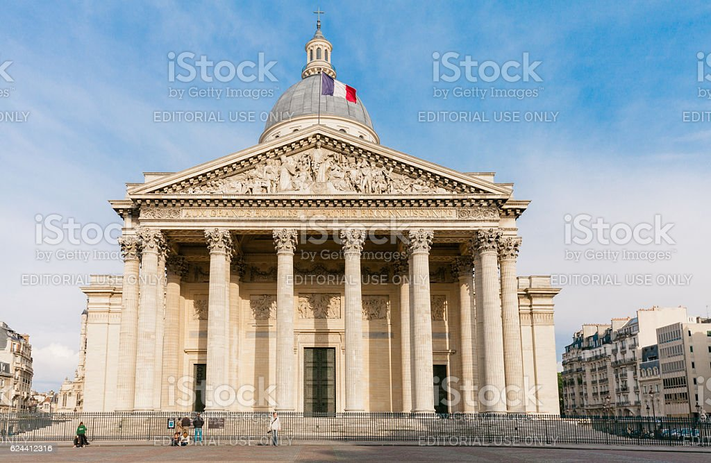 Pantheon, Paris stock photo