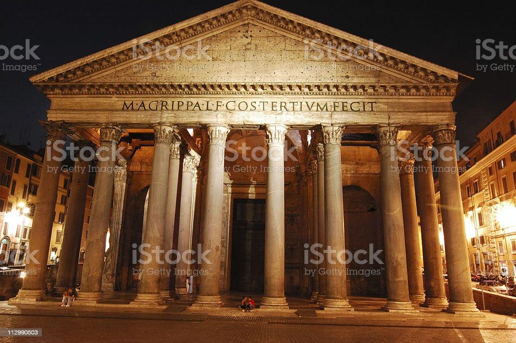 Pantheon royalty-free stock photo