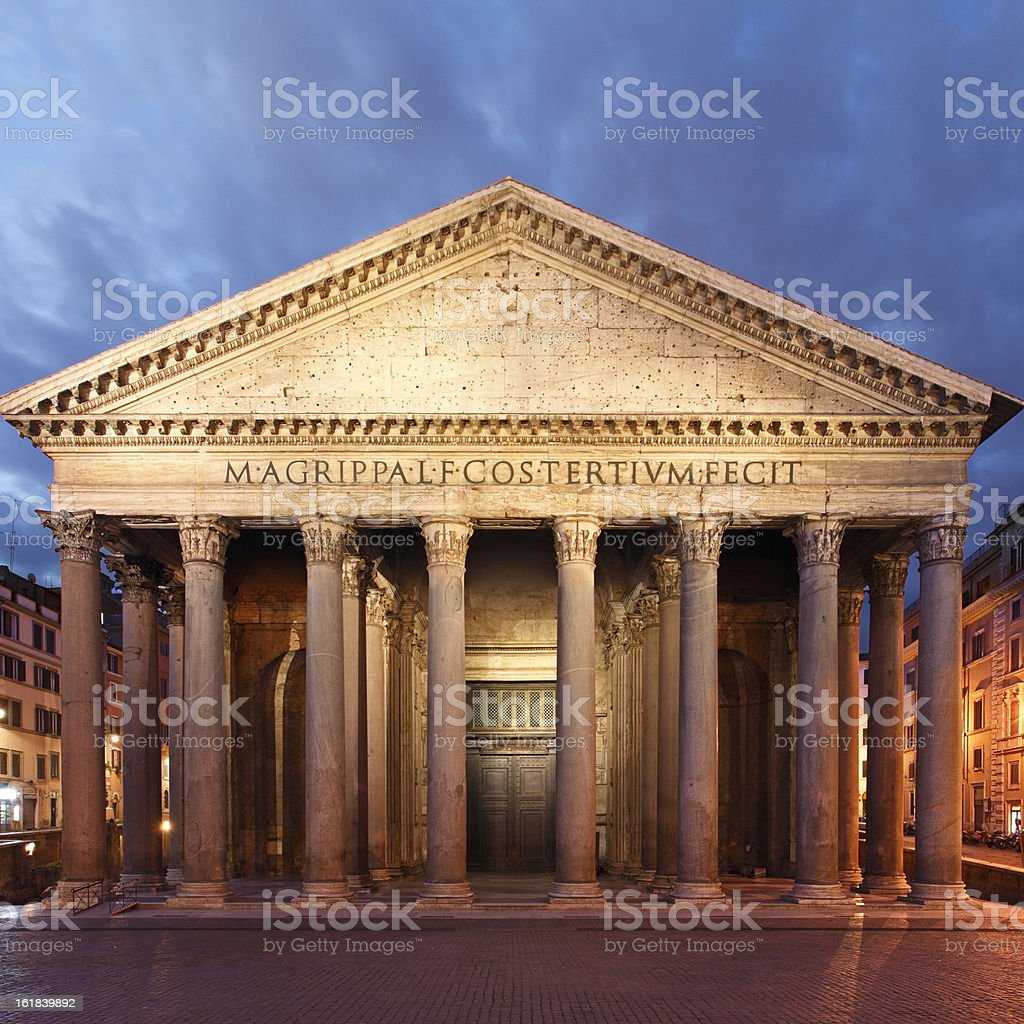 Pantheon stock photo