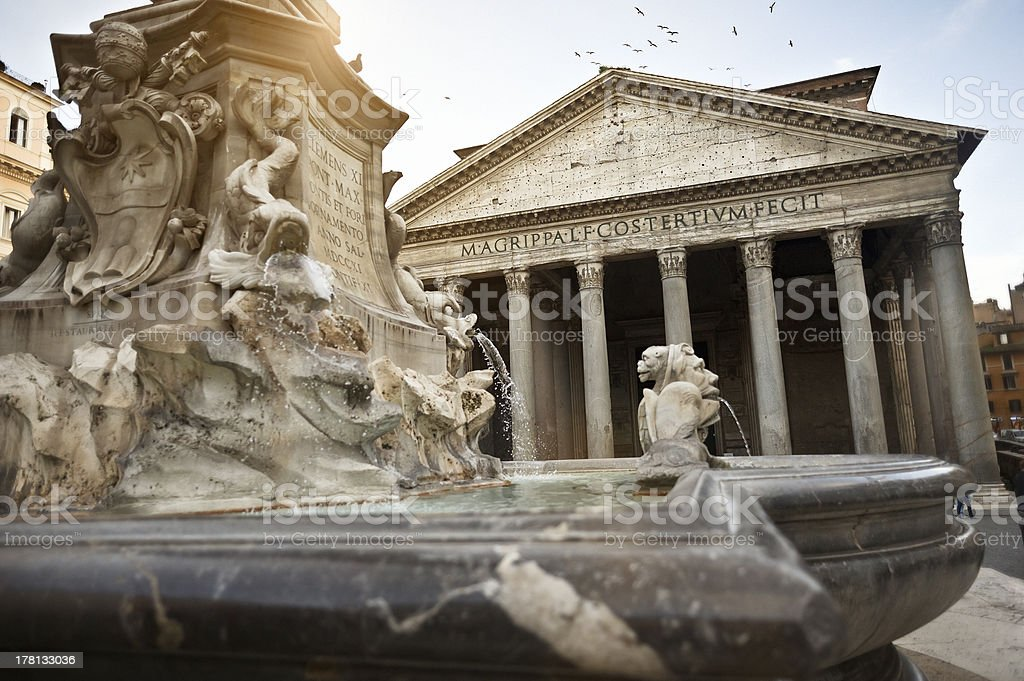 Pantheon royalty-free stock photo