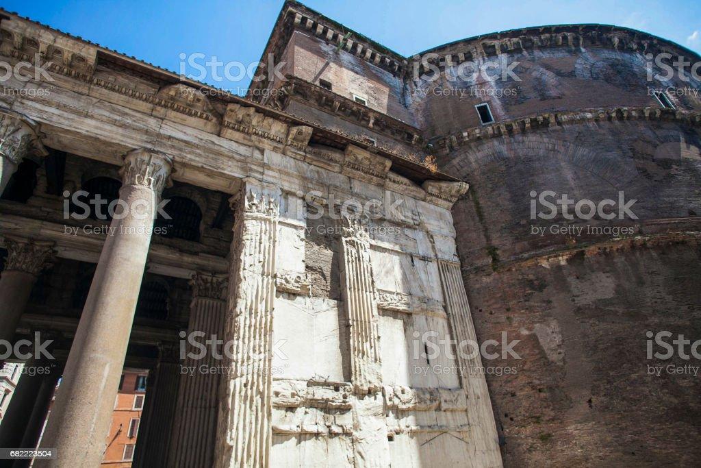 Pantheon Roma stock photo