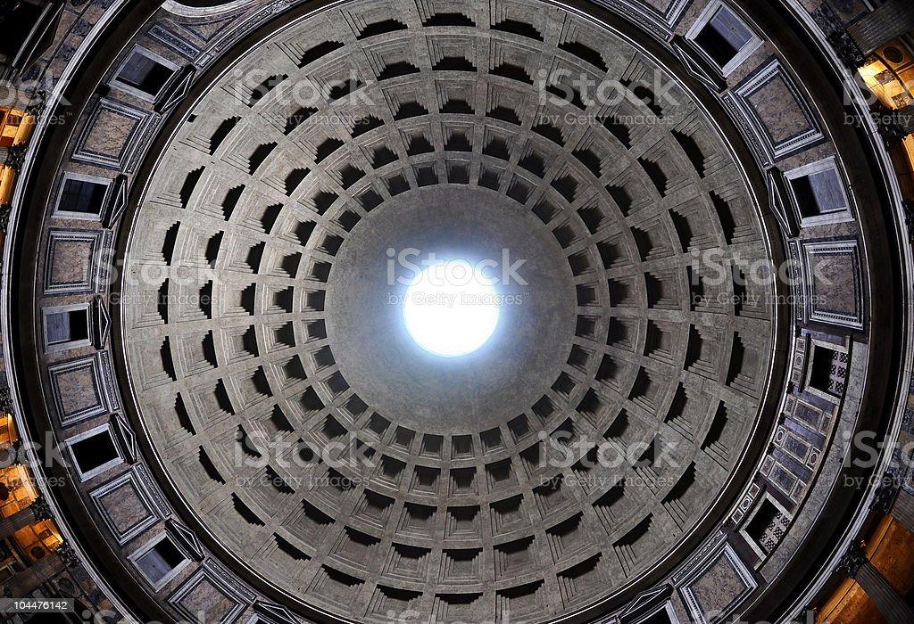 Pantheon Rome royalty-free stock photo