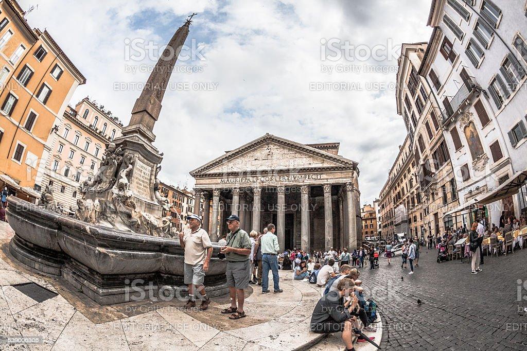 Pantheon, Rome stock photo