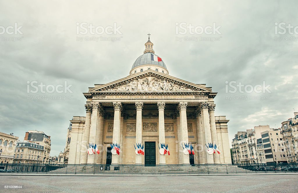 Pantheon,Paris stock photo