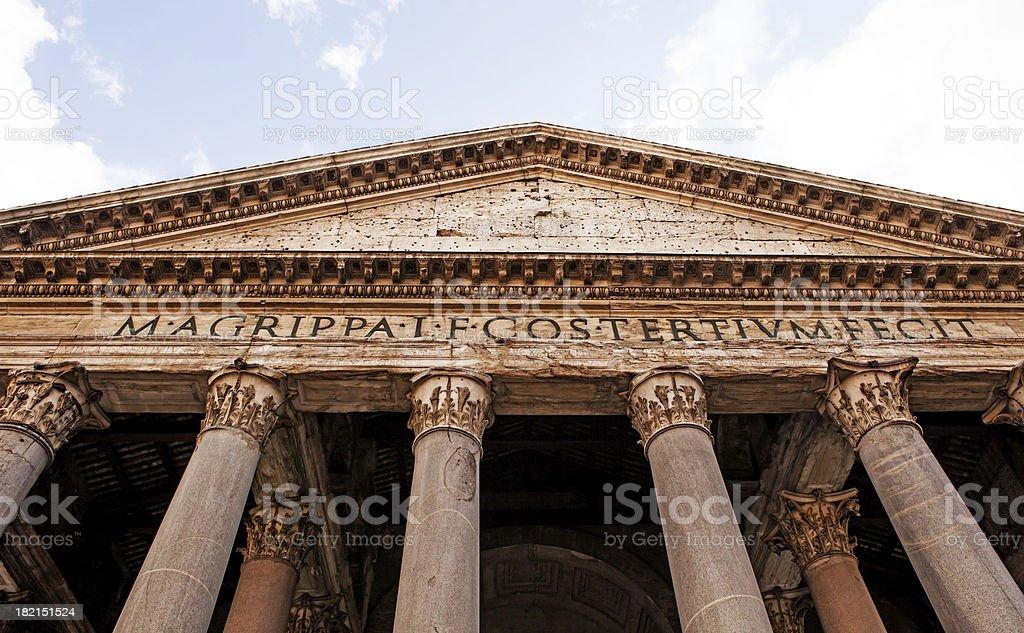pantheon,rome stock photo