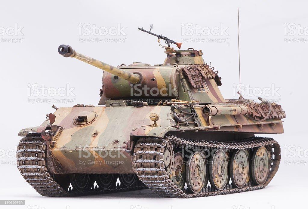 'Panther' tank stock photo