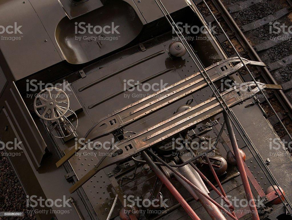Pantograph stock photo