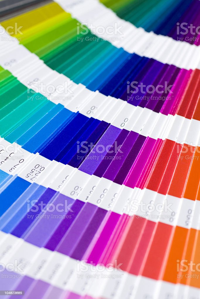 Pantone royalty-free stock photo