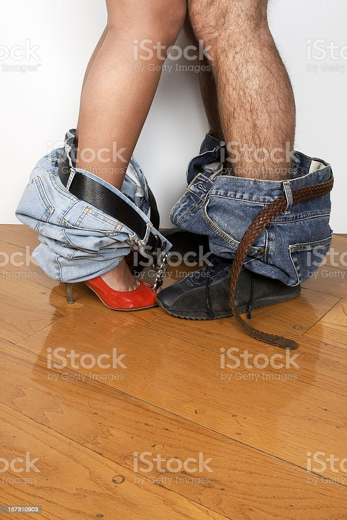 pants and shoes royalty-free stock photo