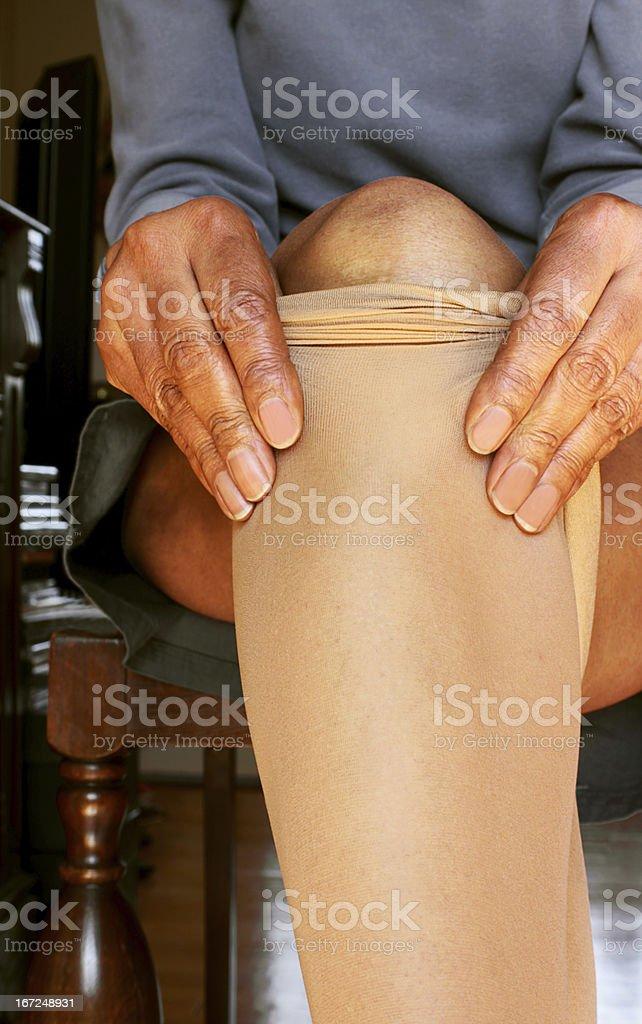 Pantyhose royalty-free stock photo