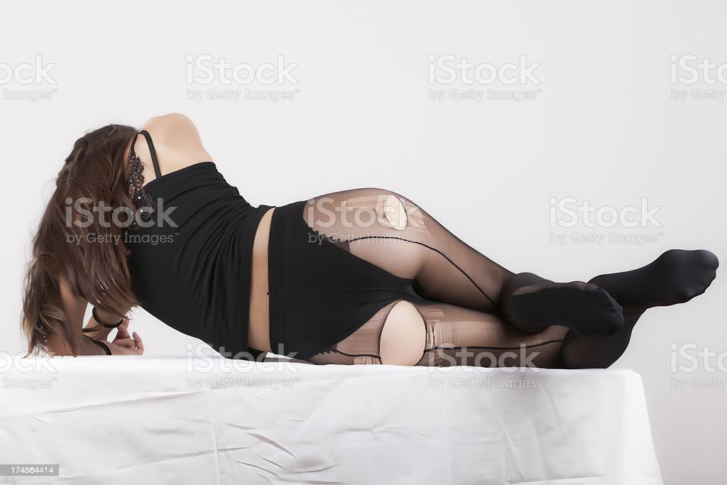 Pantyhose royalty-free stock photo