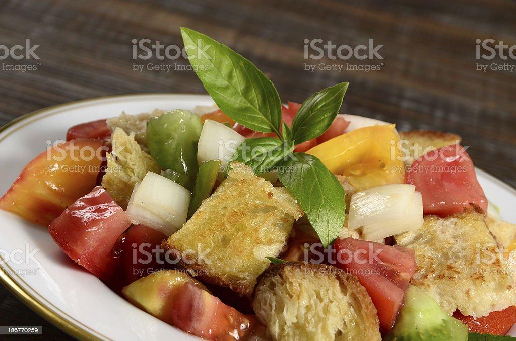 Panzanella Salad stock photo