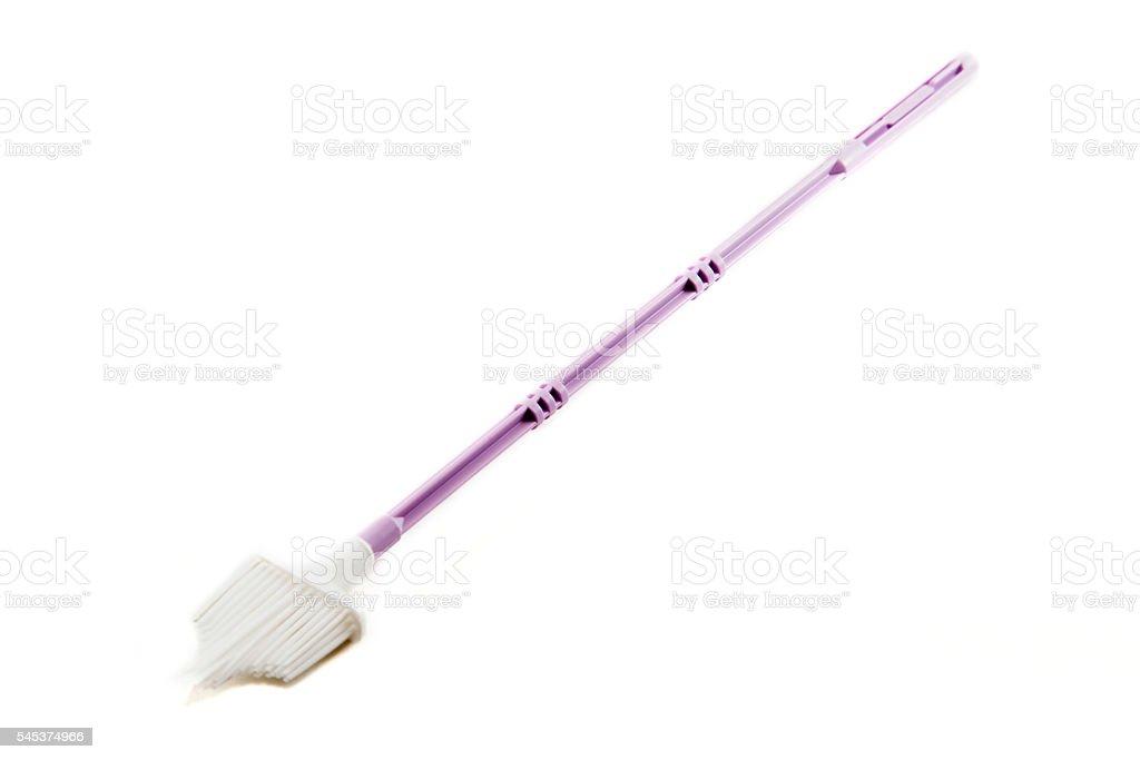 Pap Smear Brush stock photo