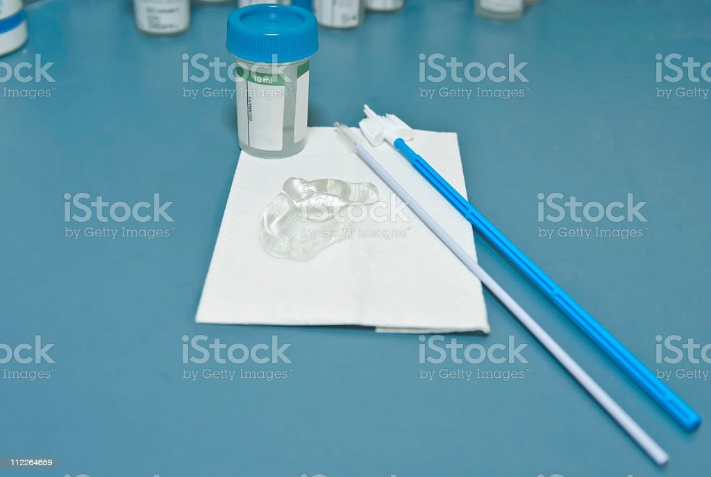 pap smear medical test stock photo