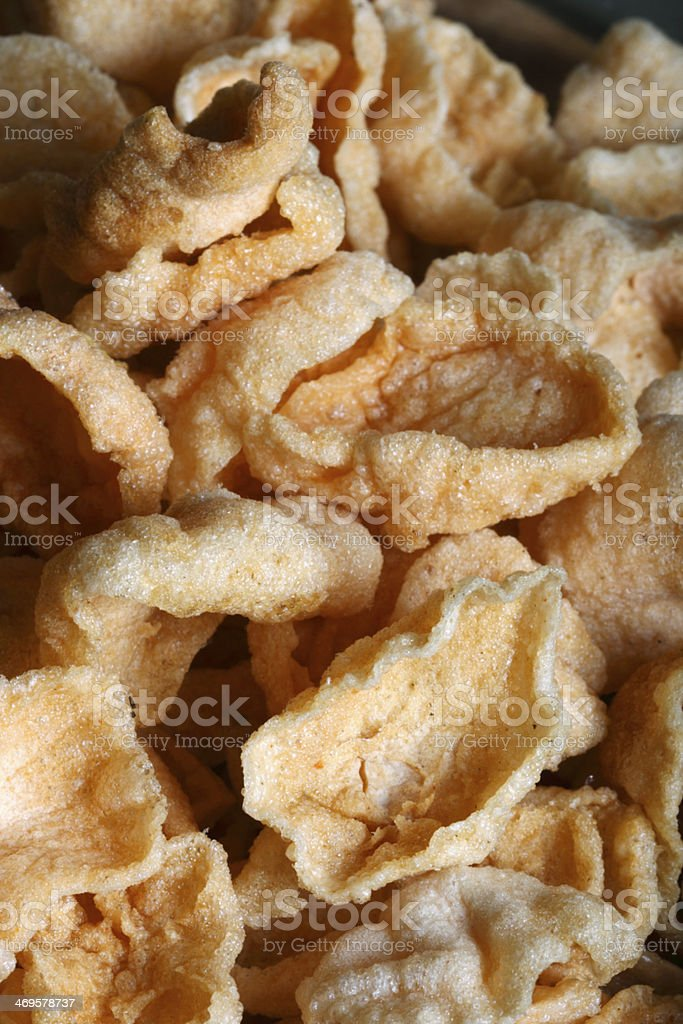 Papad is a popular Indian snack or round flat bread royalty-free stock photo