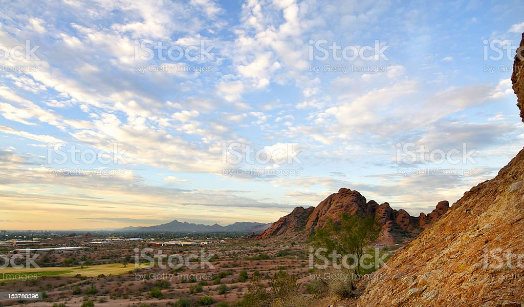 Papago Park in Phoenix Az,USA royalty-free stock photo