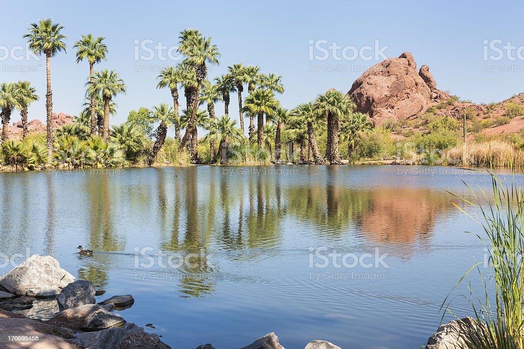 Papago Park, Phoenix, Arizona stock photo