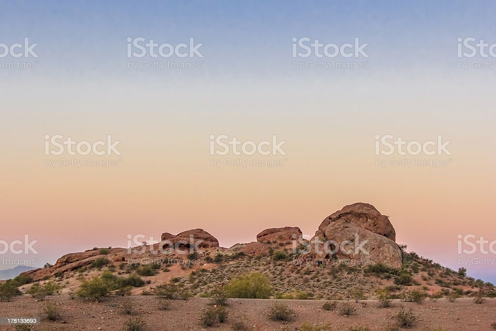 Papago Park royalty-free stock photo