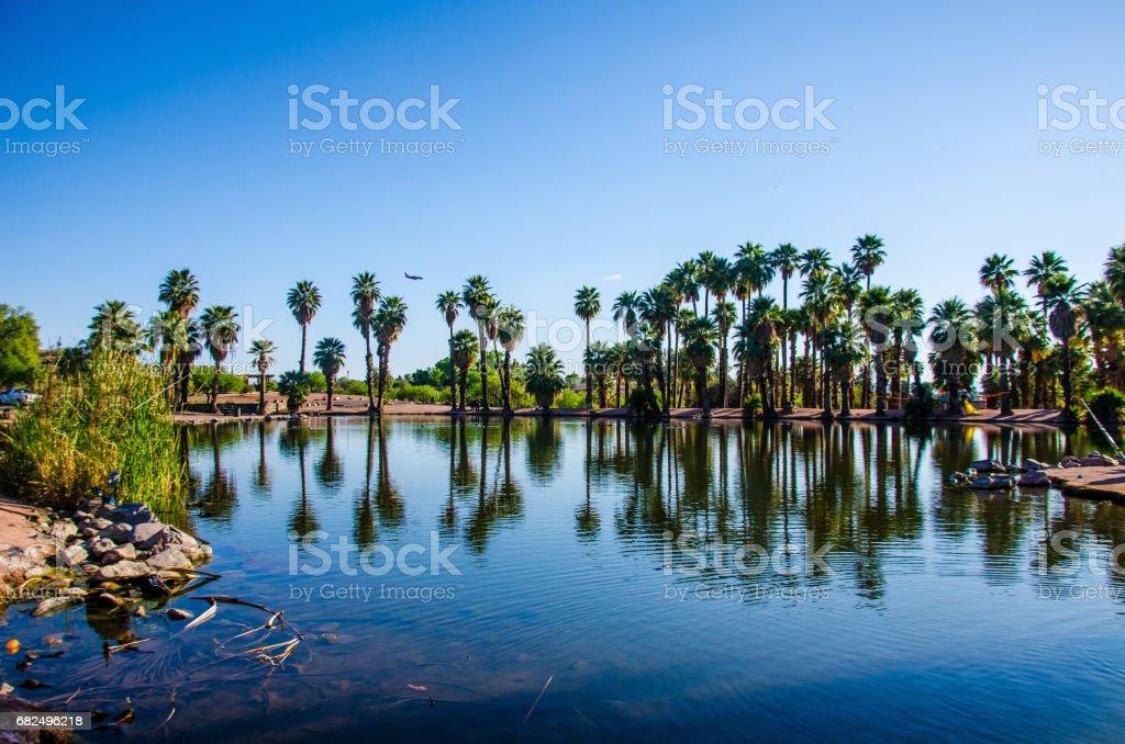 Papago Park stock photo