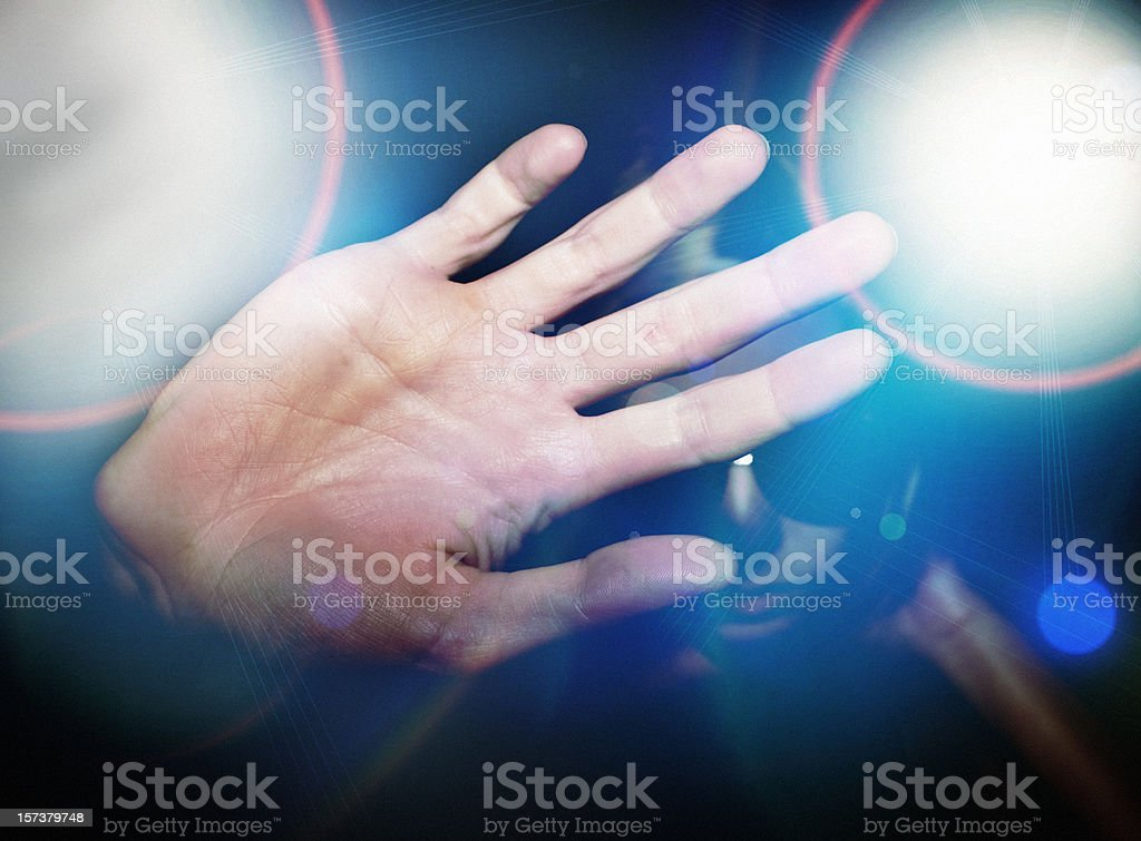 Paparazzi Celebrity royalty-free stock photo