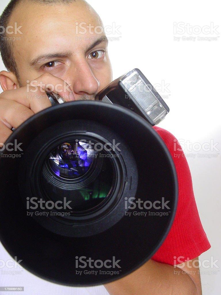 Paparazzi foto stock royalty-free