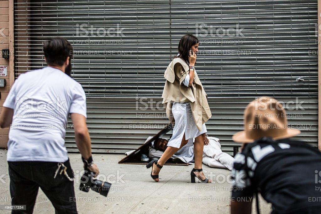 Paparazzi stock photo