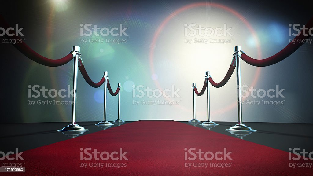 Paparazzi Red Carpet stock photo