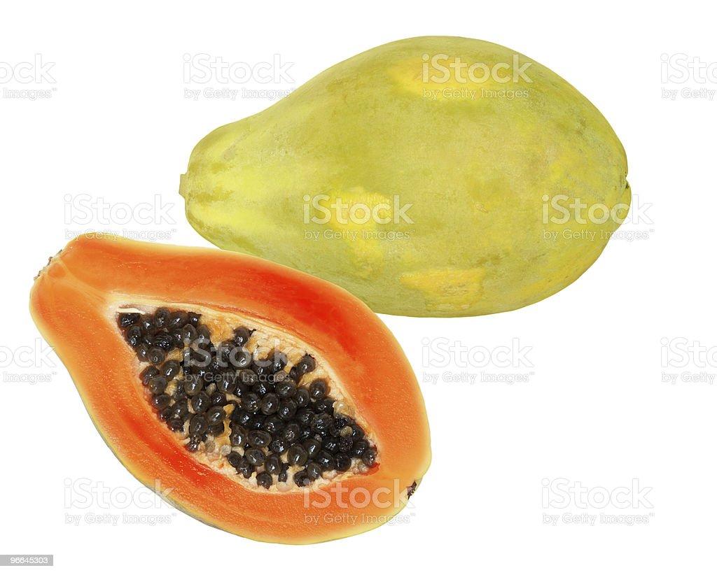 Papaya Fruit royalty-free stock photo