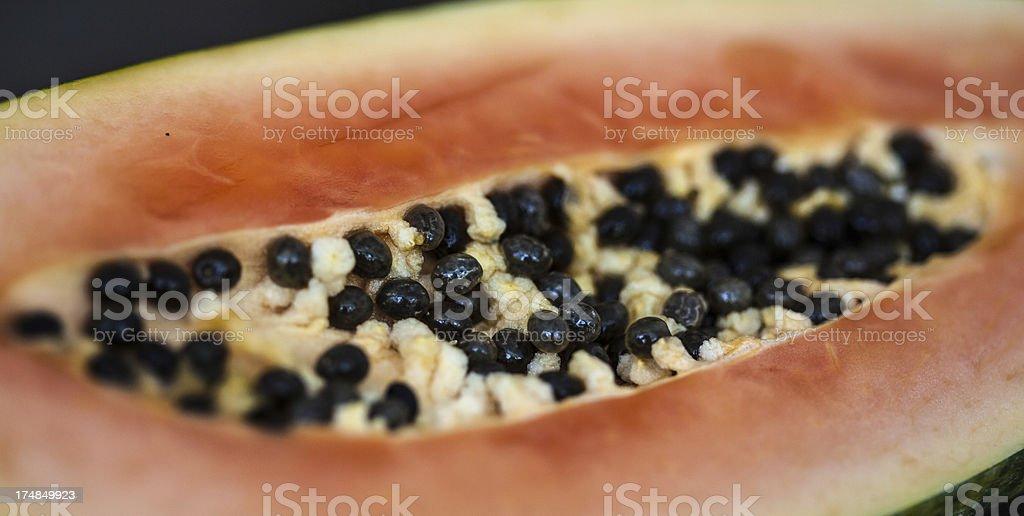 Papaya maradol royalty-free stock photo