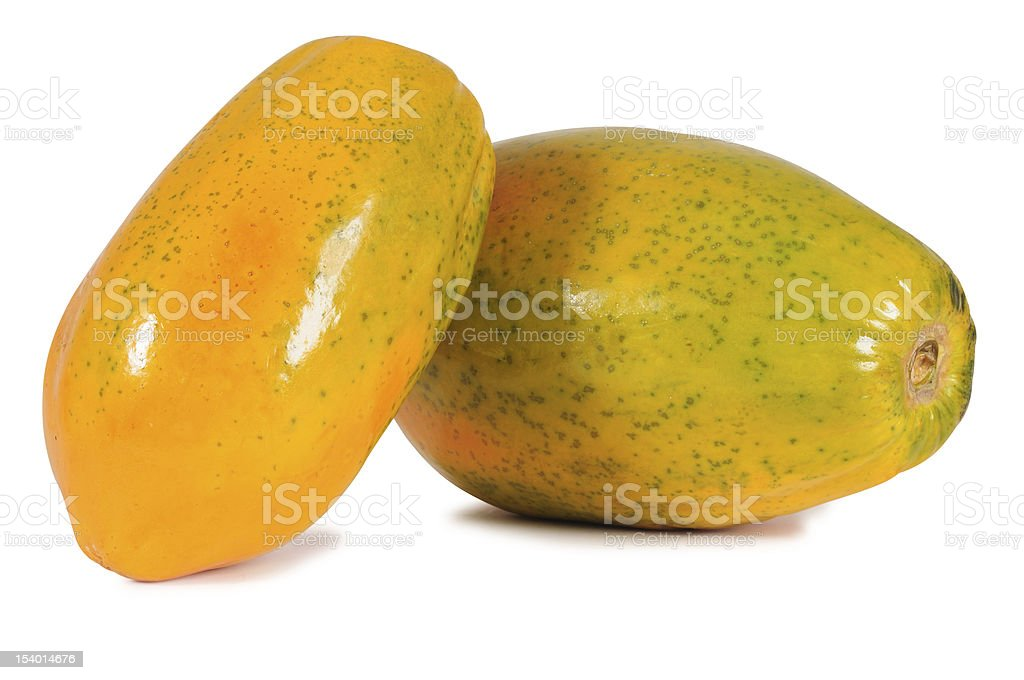 Papaya. stock photo