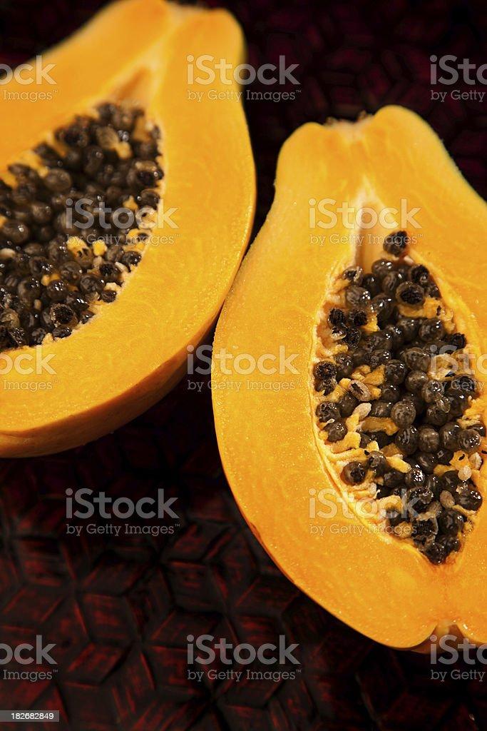 Papaya royalty-free stock photo