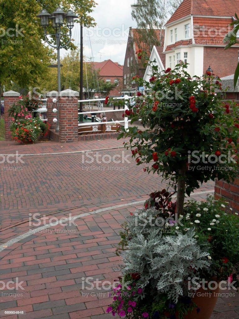 papenburg in the german emsland stock photo