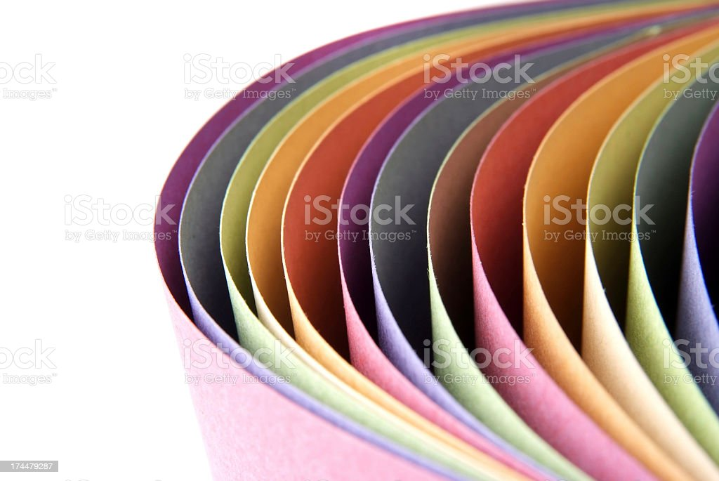 Paper Abstarct royalty-free stock photo