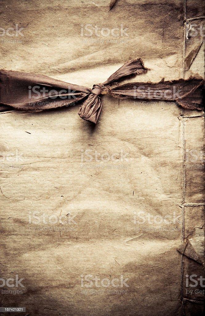 paper and ribbon royalty-free stock photo