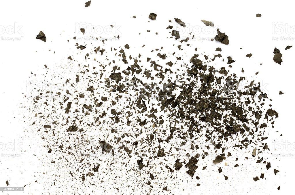 Paper Ash texture stock photo