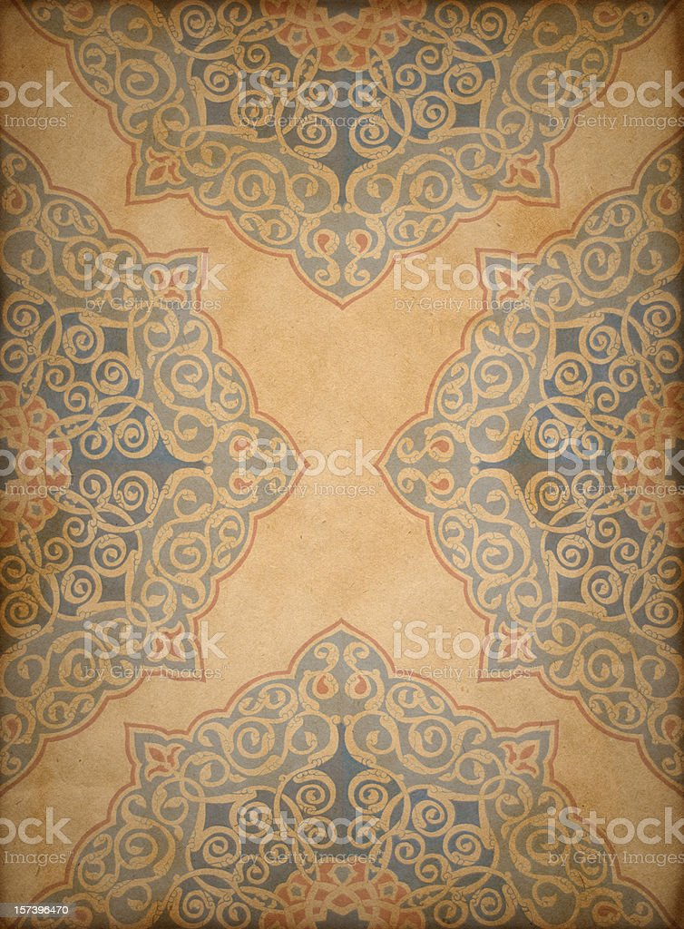 Paper Background Oriental Design stock photo