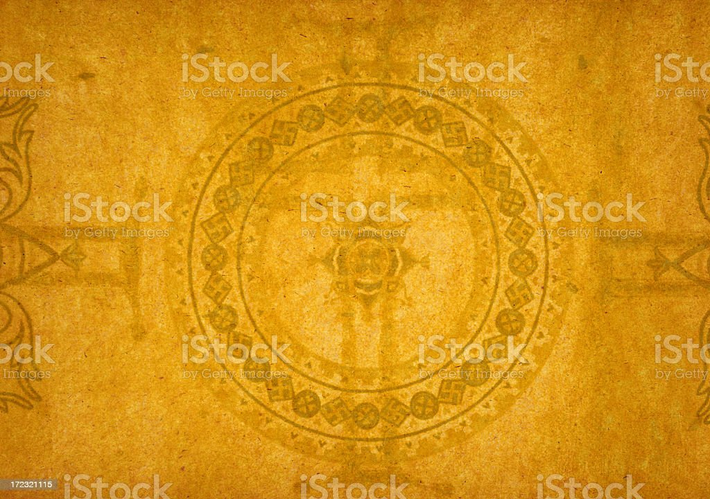 XL Paper Background with Byzantine Design stock photo