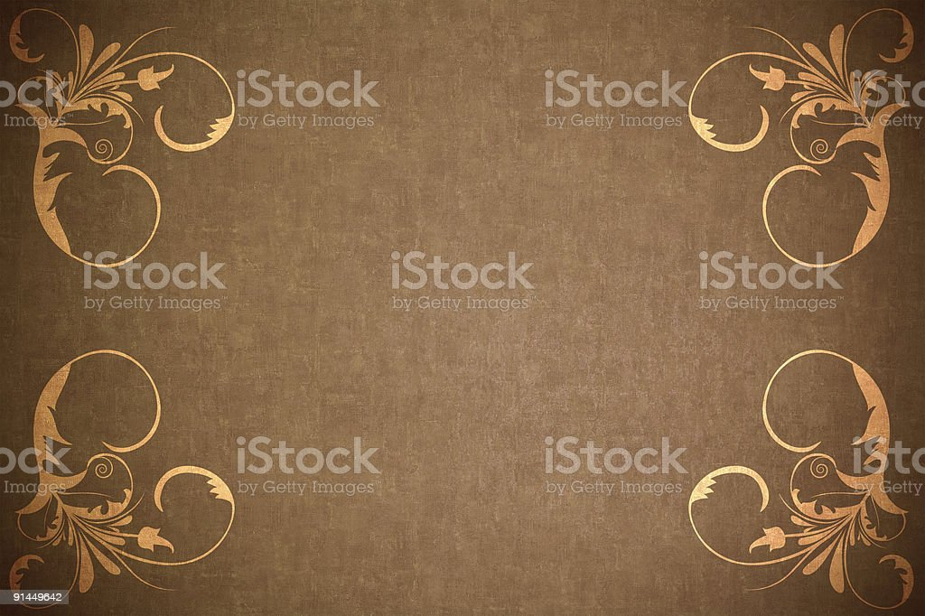 paper background with vector ornaments royalty-free stock vector art