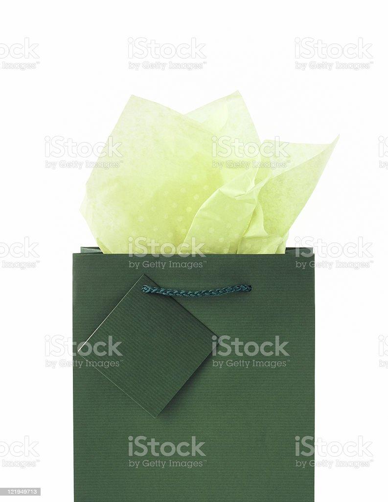 Paper bag stock photo