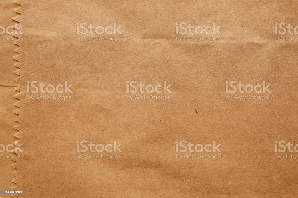 Paper bag texture background stock photo