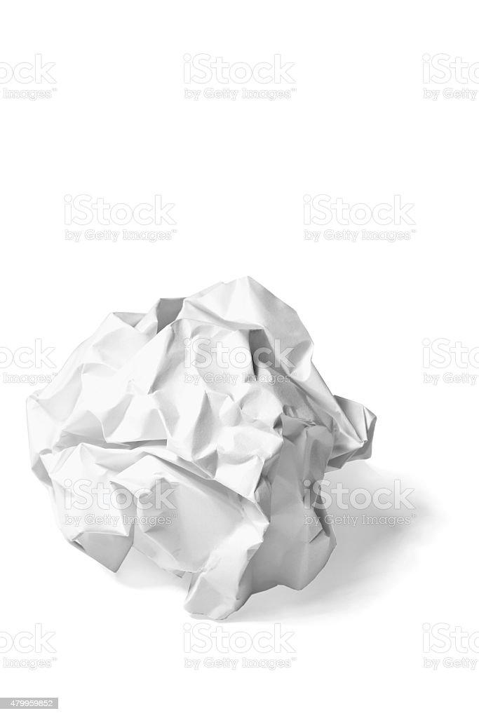 Paper Ball stock photo