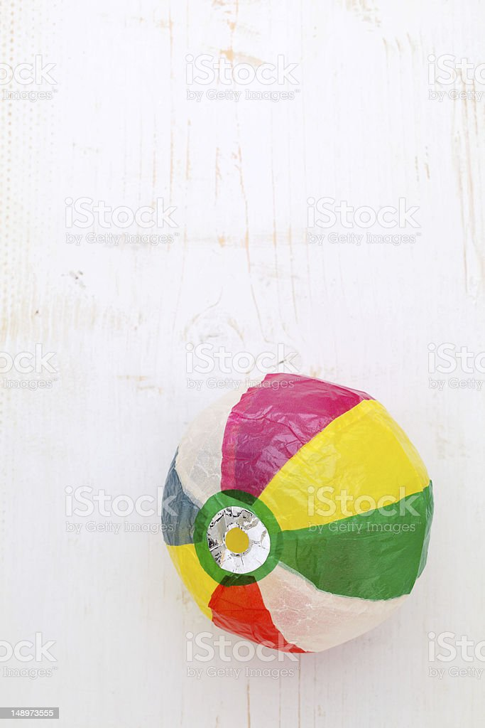 Paper balloon stock photo