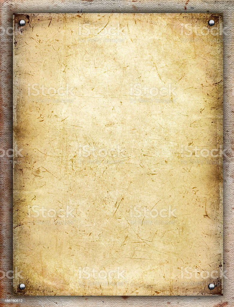 Paper board stock photo