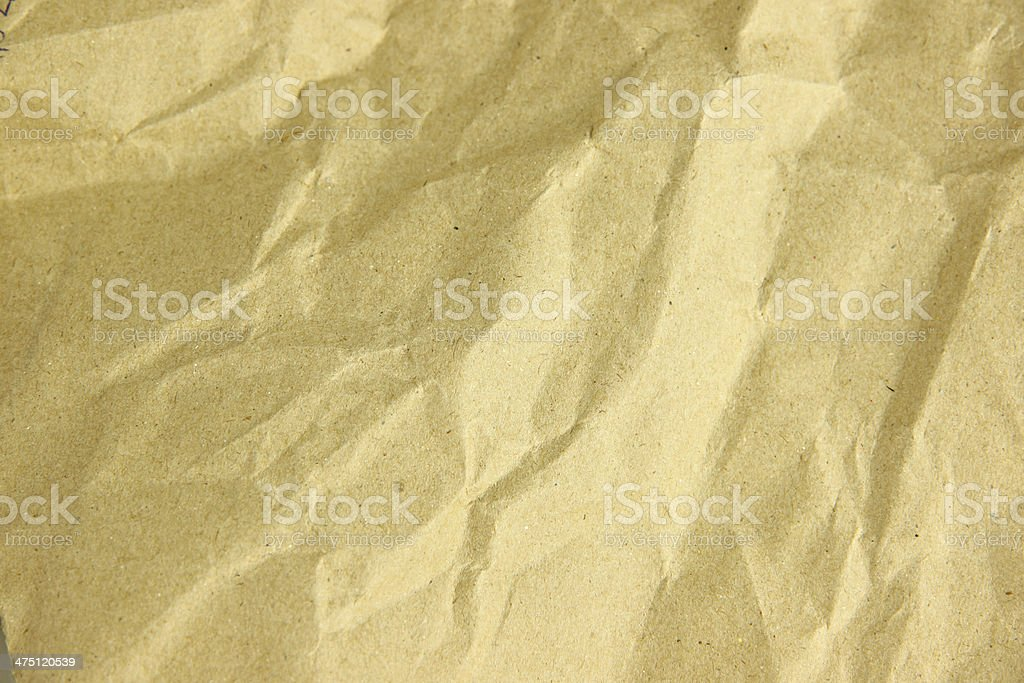 Paper box texture in crumpled. royalty-free stock photo